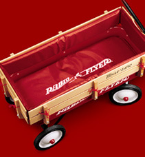 Red Wagons By Radio Flyer Steel Built Radio Flyer Wagons